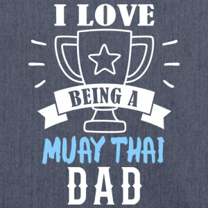 Muay Thai dad - Shoulder Bag made from recycled material