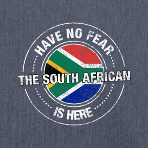 Have No Fear The South African Is Here Shirt - Shoulder Bag made from recycled material