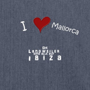 I love Mallorca - Shoulder Bag made from recycled material