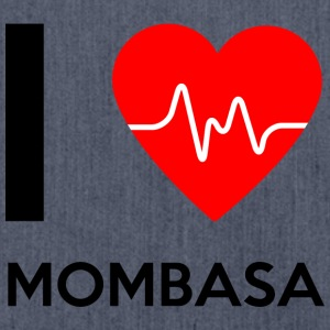 I Love Mombasa - I Love Mombasa - Shoulder Bag made from recycled material