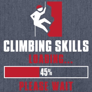 Climbing Skills Loading - Shoulder Bag made from recycled material