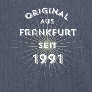 Original from Frankfurt since 1991 - Shoulder Bag made from recycled material