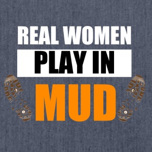 Real women play in mud - Shoulder Bag made from recycled material