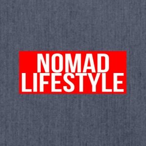 nomad lifestyle red - Shoulder Bag made from recycled material