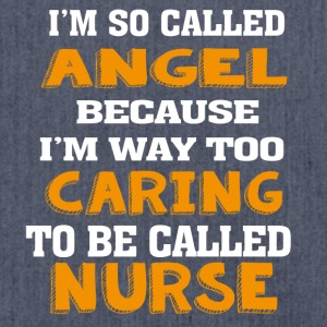Angel Caring Nurse - Shoulder Bag made from recycled material