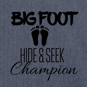 Big Foot Hide and seek champion - Shoulder Bag made from recycled material