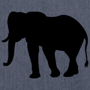 Elefant - Schultertasche aus Recycling-Material