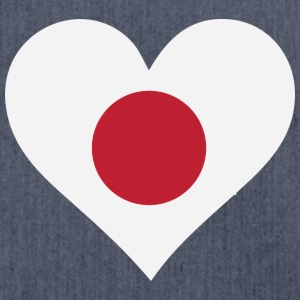 A Heart For Japan - Shoulder Bag made from recycled material