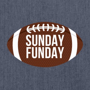 Football: Sunday Funday - Schultertasche aus Recycling-Material