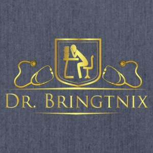 Dr.Bringtnix luxury stethoscope - Shoulder Bag made from recycled material