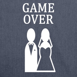 ++GAME OVER++ - Schultertasche aus Recycling-Material