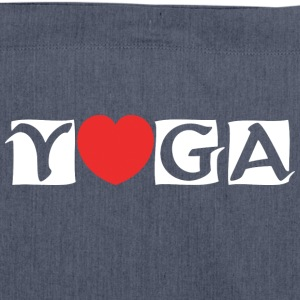 Liebe-Yoga - Schultertasche aus Recycling-Material