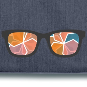 color glasses - Shoulder Bag made from recycled material