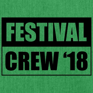 Festival Crew 18 - Shoulder Bag made from recycled material