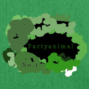 PartyAnimalNo-1 - Schultertasche aus Recycling-Material