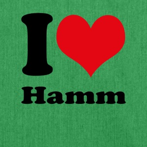 I love Hamm - Schultertasche aus Recycling-Material