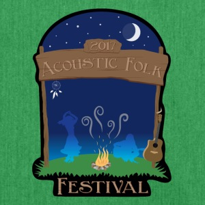 Acoustic Folk Festival - Shoulder Bag made from recycled material