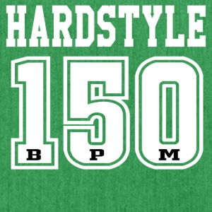 Hardstyle - 150 - BPM T-shirt and hoodie - Shoulder Bag made from recycled material