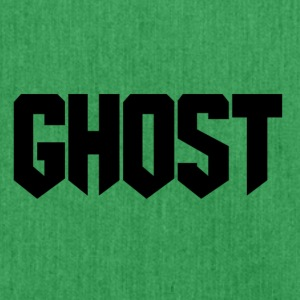 Ghost logo design - Shoulder Bag made from recycled material