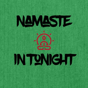 Namaste in Tonight - Schoudertas van gerecycled materiaal