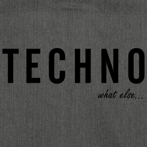 TECHNO ...what else - Schultertasche aus Recycling-Material