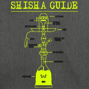 SHISHA GUIDE! - Schultertasche aus Recycling-Material