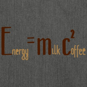 Energy Milk Coffee - Schultertasche aus Recycling-Material