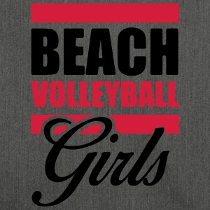 Beachvolleybal Girls shirt - Volleybal T-shirt - Schoudertas van gerecycled materiaal