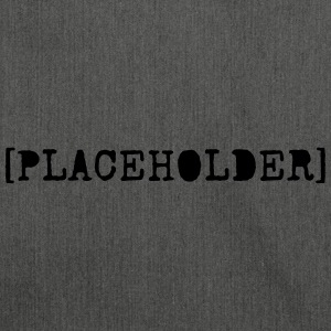 [PLACEHOLDER} - Shoulder Bag made from recycled material
