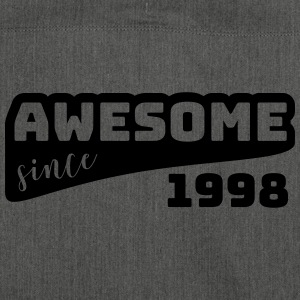 Awesome since 1998 / Birthday-Shirt - Shoulder Bag made from recycled material