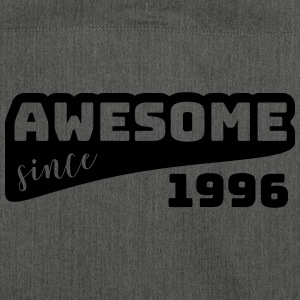 Awesome since 1996 / Birthday-Shirt - Shoulder Bag made from recycled material