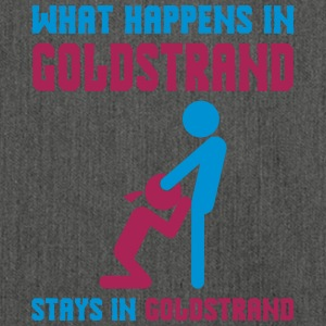 Goldstrand what happens there - Shoulder Bag made from recycled material