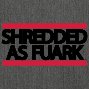 shreddedasfuark - Shoulder Bag made from recycled material