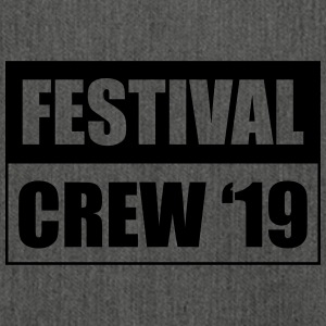 Festival Crew 19 - Shoulder Bag made from recycled material