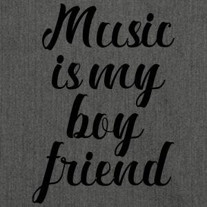Music Is My Boyfriend - Skuldertaske af recycling-material