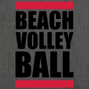 volleybal T-shirt - beachvolleybal overhemd - Beach - Schoudertas van gerecycled materiaal