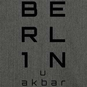 BERLIN u akbar - Shoulder Bag made from recycled material