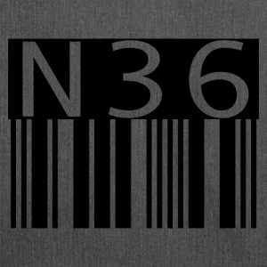 n36barcode - Schultertasche aus Recycling-Material