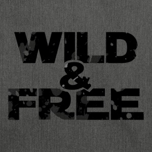 WILD & FREE - Schultertasche aus Recycling-Material