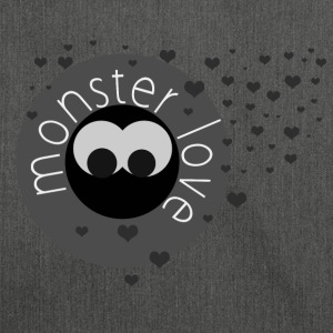 monster love - Borsa in materiale riciclato