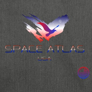 Space Atlas Tee USA - Shoulder Bag made from recycled material