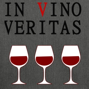 IN VINO VERITAS - nel vino False verità - Borsa in materiale riciclato