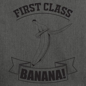 FIRST CLASS duppe BANANA - Skuldertaske af recycling-material