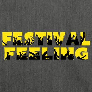 FESTIVAL FEELING - Schultertasche aus Recycling-Material
