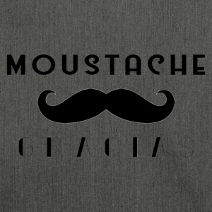 Moustache Gracias - Shoulder Bag made from recycled material