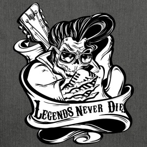 Legends Never Die - Schultertasche aus Recycling-Material