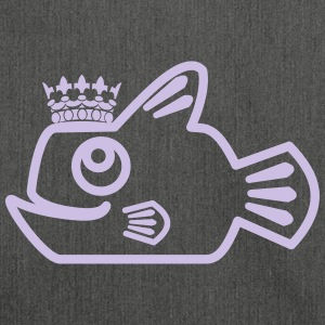 Blockfish King - Schultertasche aus Recycling-Material