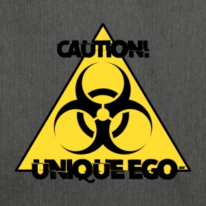 Caution! Unique Ego - The Biohazard Edition - Schultertasche aus Recycling-Material