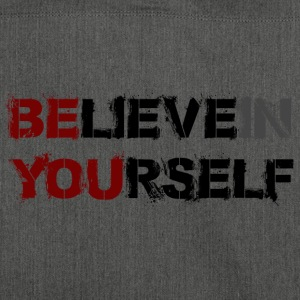 BELIEVE IN YOURSELF - Schultertasche aus Recycling-Material