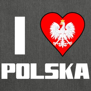 I love Polska - Shoulder Bag made from recycled material
